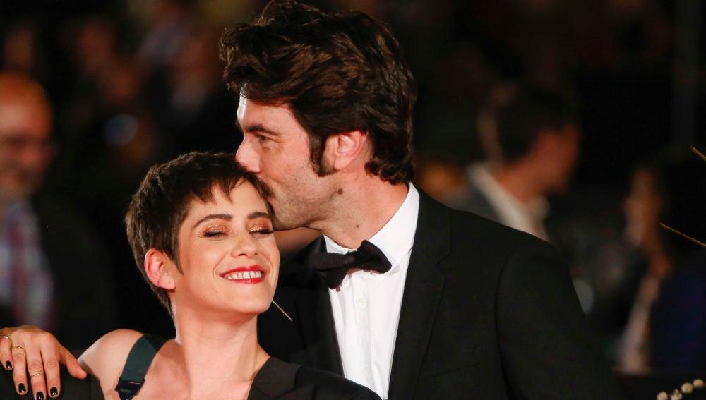 María León y Javier Rey