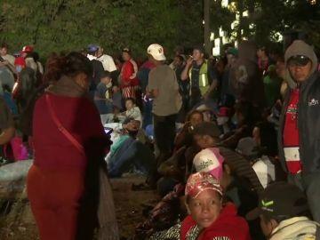 """A bordo del tren """"La Bestia"""" viajan 500 inmigrantes rumbo a la frontera de Estados Unidos"""