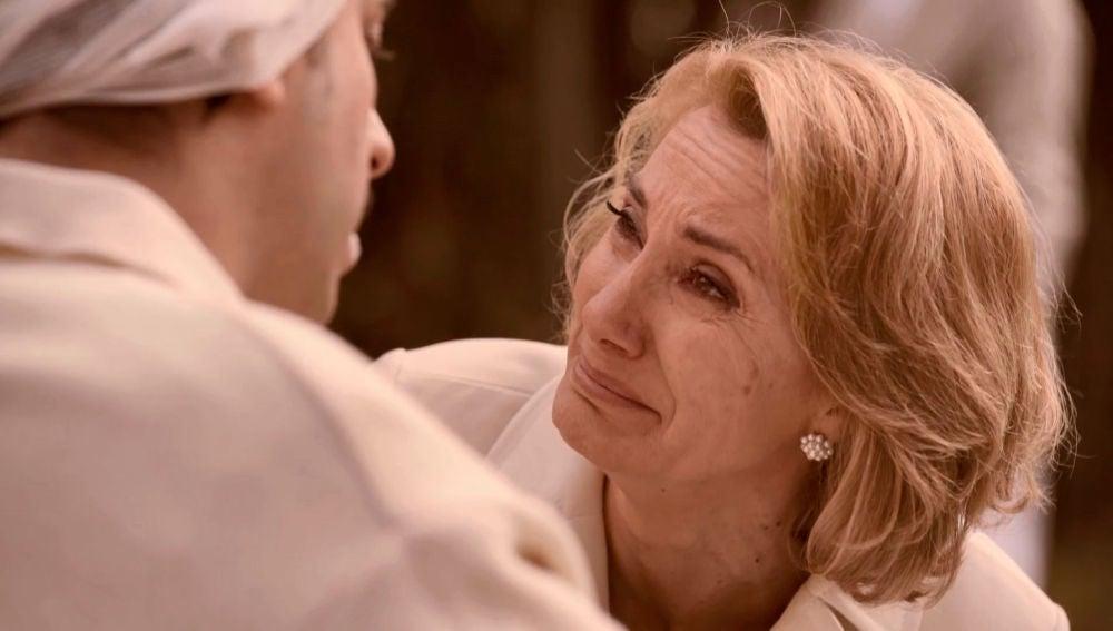 """Matilde, destrozada al ver a Samuel:""""Te juro que vamos a sacarte de aquí"""""""
