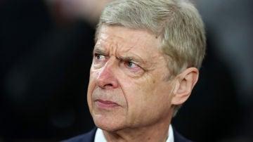 Arsene Wenger, durante un partido con el Arsenal