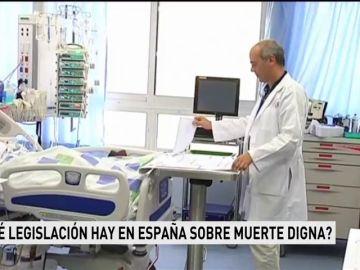 ¿Qué legislación hay en España sobre muerte digna?