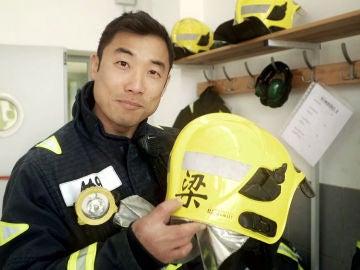 """Liang, el primer chino bombero de España: """"Soy la sorpresa de 'Ninja Warrior'"""