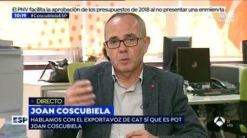 Joan Coscubiela en Espejo Público