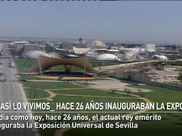 La Expo 92 abría sus puertas en Sevilla un