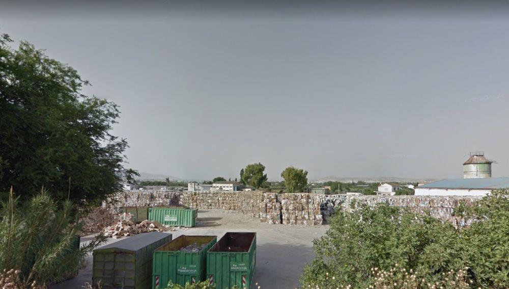 Planta de reciclaje de Granada