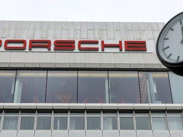 Fachada de la sede de Porsche en Stuttgart