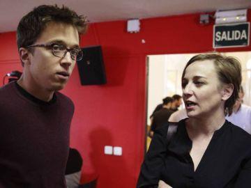 Íñigo Errejón y Tania Sánchez