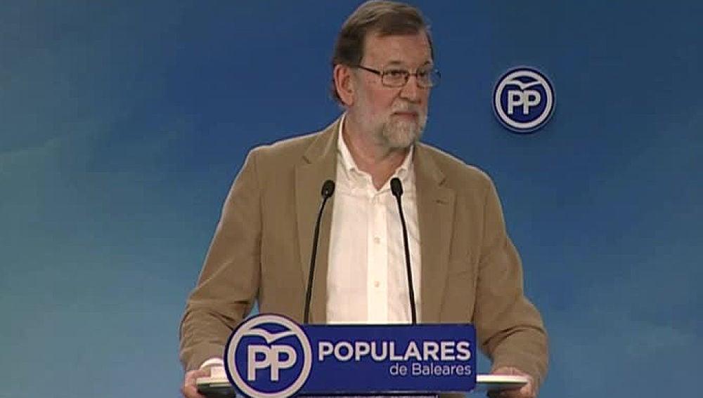 Mariano Rajoy en Baleares