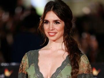 Una embarazada Elena Furiase en el Festival de cine de Málaga