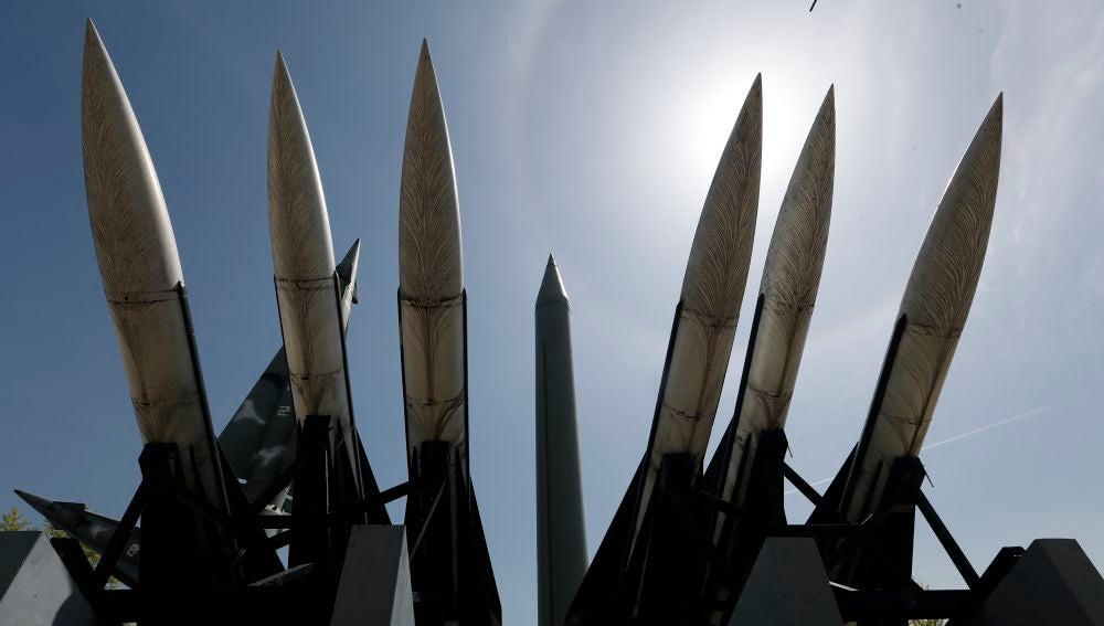 Varios misiles de Corea del Norte