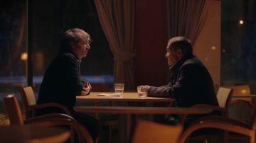 Jordi Évole y Rafael López Ocaña, en Salvados