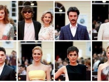 Alfombra roja gala de clausura del Festival de Cine de Málaga