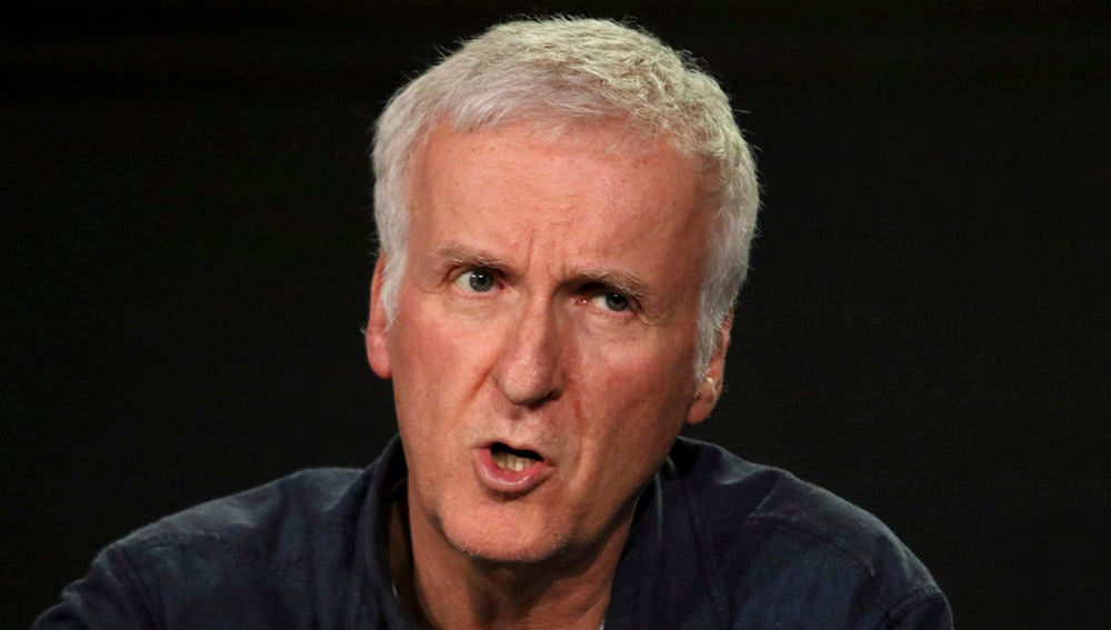 James Cameron en la presentación de su documental