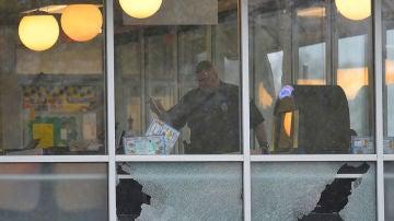 Imagen del restaurante en el que tuvo lugar el tiroteo