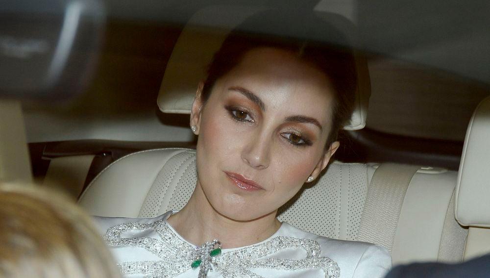 Alejandra Romero, Duquesa de Suárez, en el día de su boda