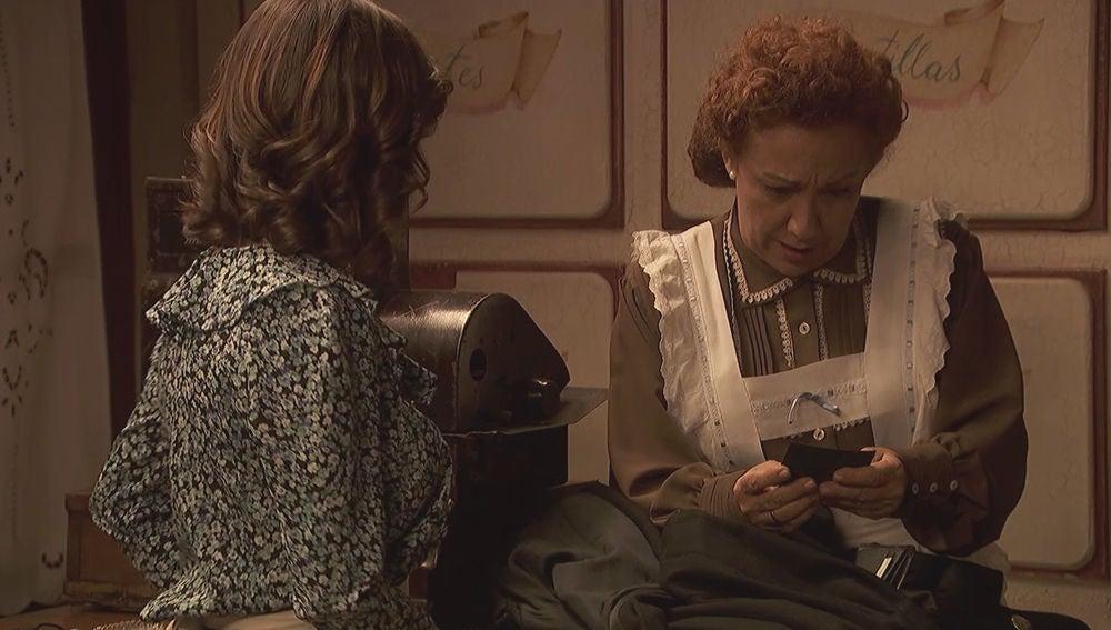 Un error de Melitón aviva aún más la curiosidad de Dolores