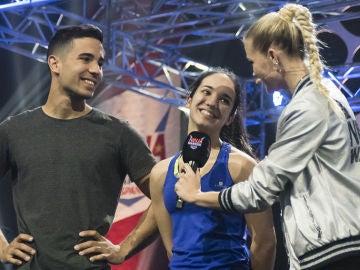 Laura Verdasco, la hermana de Sergio, el ganador de la primera edición, compite en 'Ninja Warrior'
