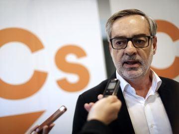 El secretario general de Ciudadanos (Cs), José Manuel Villegas