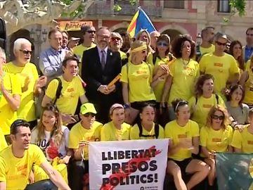 Carrera de relevos hasta las cárceles para pedir la libertad de los dirigentes presos