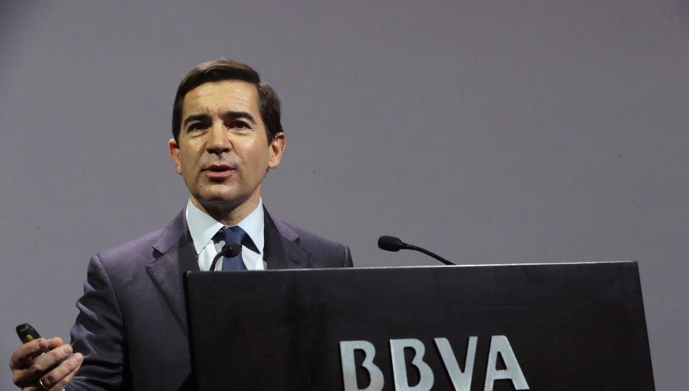 El Consejero Delegado de BBVA Carlos Torres