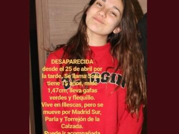 Una niña de 15 años, desaparecida en Illescas