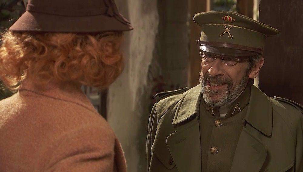 """Pérez de Ayala, a Irene: """"Tranquilícese, no he venido a hacerle nada malo"""""""