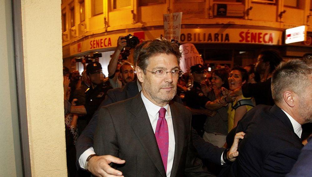 Rafael Catalá, entre abucheos en Córdoba