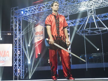 Las artes marciales ayudan a Alfredo a subir la pared de 'Ninja Warrior'