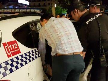 Detenido un joven por agredir a un agente en esta protesta