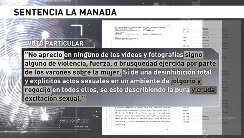 """Las distintas interpretaciones de los magistrados que redactaron la sentencia contra """"La Manada"""""""