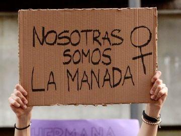 Manifestación por la sentencia contra 'La Manada'