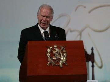 El expresidente de Guatemala Álvaro Arzú
