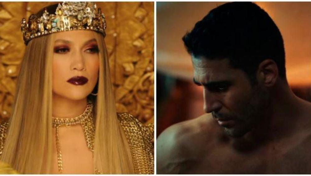 f76e7d19012c Jennifer Lopez y Miguel Ángel Silvestre en el videoclip de  El anillo