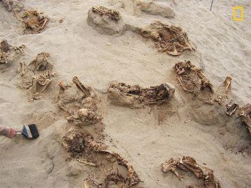 Sacrificio de niños en Perú