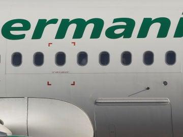 Un avión de la aerolínea Germania