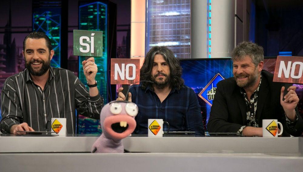 Raúl Cimas, Vaquero y Dani Mateo tienen que tomar la decisión más crítica de 'El Hormiguero 3.0'