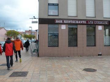 Lugar donde una mujer fue asesinada en la madrugada del sábado en Burgos