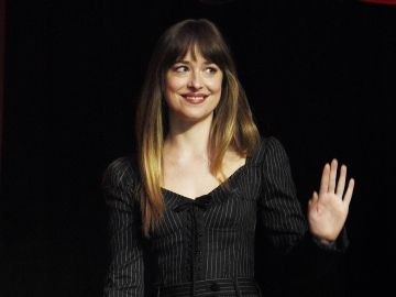 Dakota Johnson presenta 'Suspiria' en CinemaCon