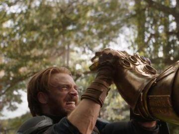 Capitán América contra Thanos