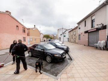 Establecimiento hostelero en la calle San Antón de la capital burgalesa donde una mujer de 34 años falleció