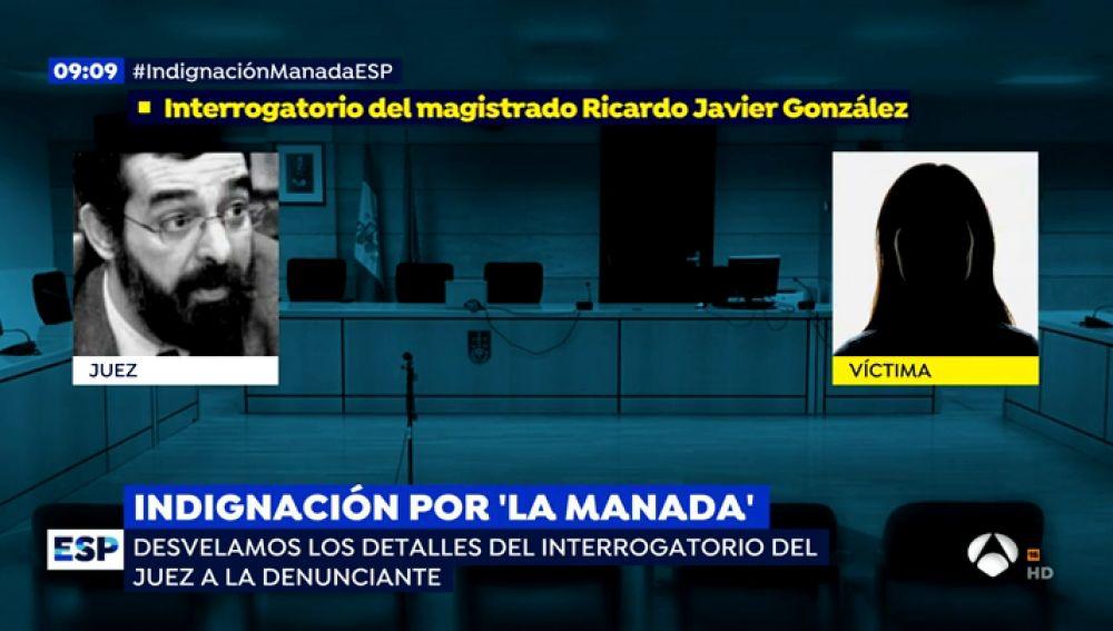 Así fue el tenso interrogatorio del juez Ricardo Javier González que pidió absolver a 'La Manada' con la víctima
