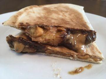 Esta quesadilla mexicana dulce es irresistible.