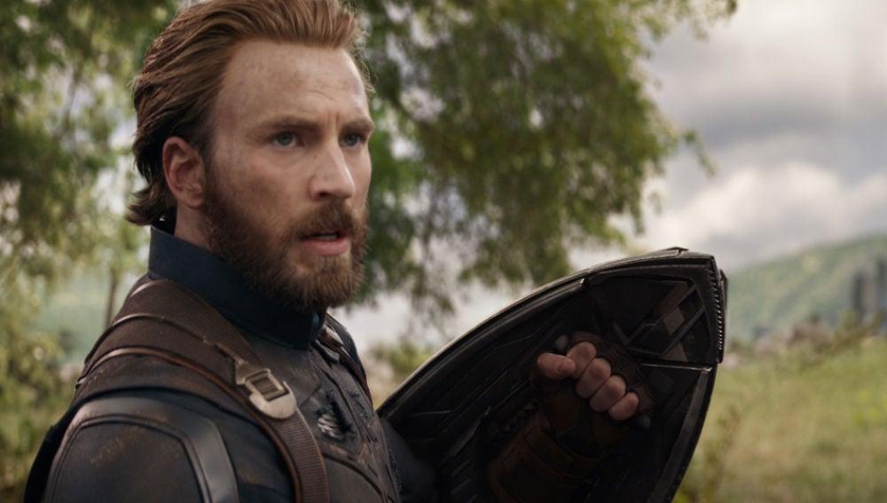 Capitán América en 'Vengadores: Infinity War'