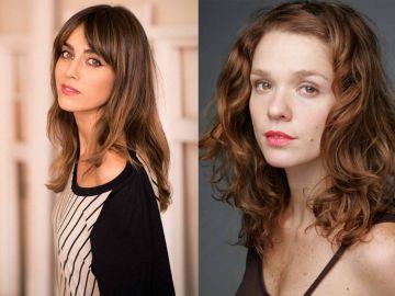 Irene Arcos y Valeria Alonso, protagonistas de 'El embarcadero'
