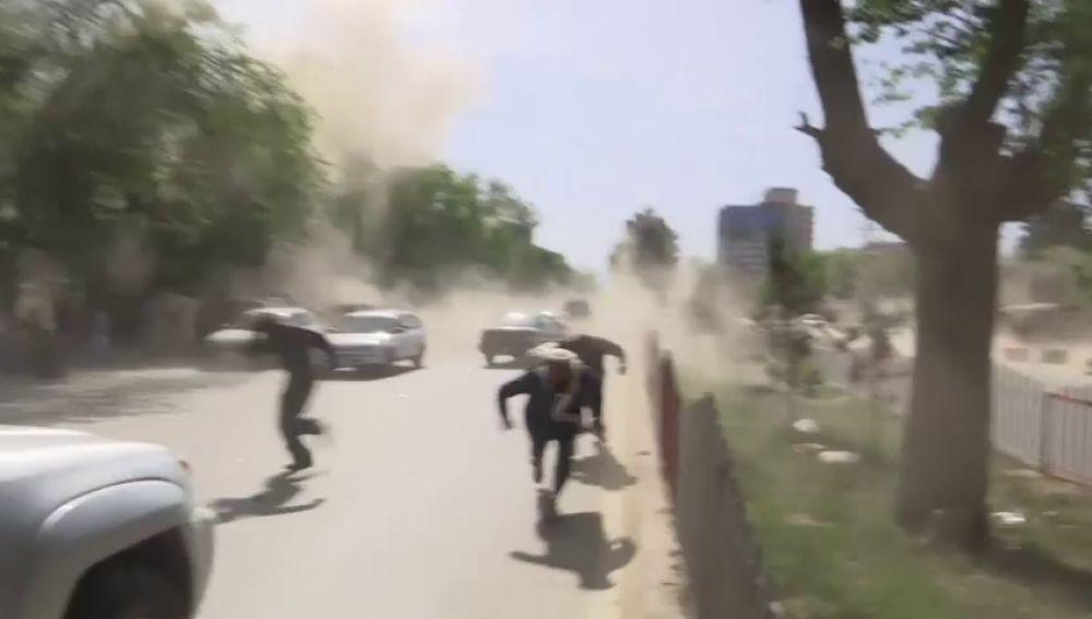 Al menos 29 muertos y 40 heridos en dos explosiones en el centro de Kabul