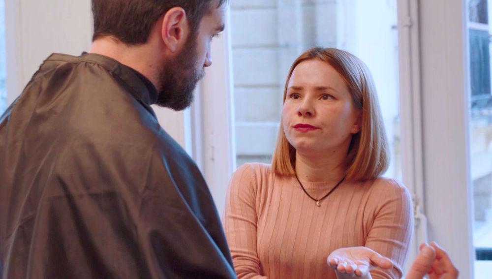 """Zuriñe, molesta con Iñaki: """"Si aún sientes algo por Carmen, dímelo"""""""
