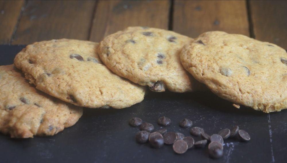 Unas estupendas cookies al estilo Chips Ahoy!