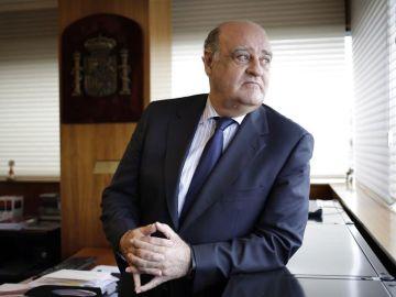 El presidente del Tribunal Superior de Justicia de Navarra (TSJN), Joaquín Galve