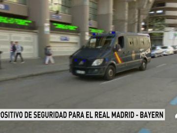 El Bernabéu se blinda para el partido de Champions ante el Bayern, declarado de alto riesgo