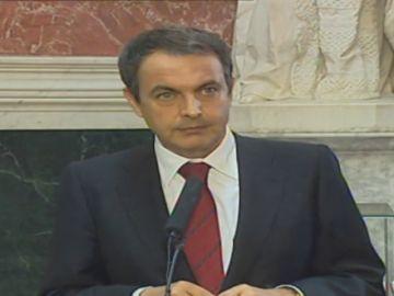 Zapatero intenta la negociaicón